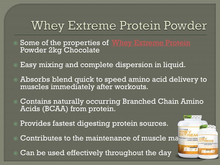 Whey Extreme Protein Powder