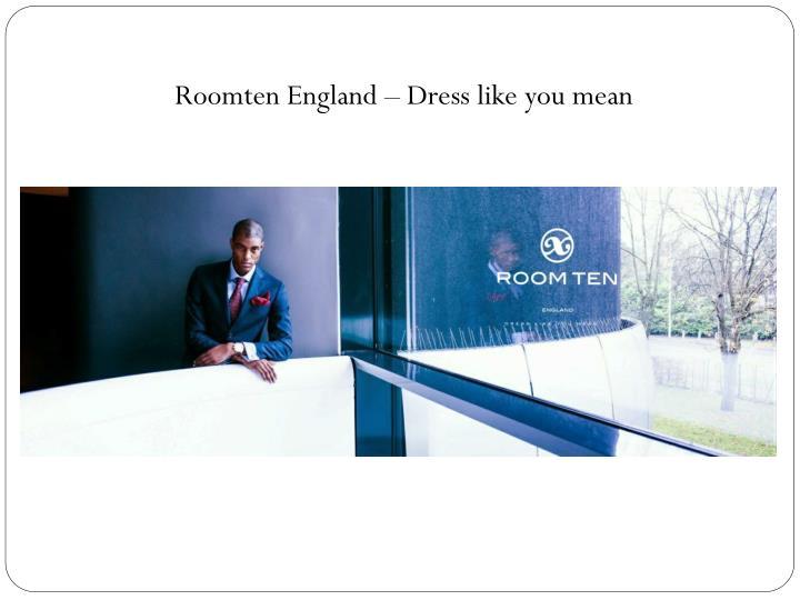 Roomten England
