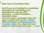 new year in frankfurt oder1