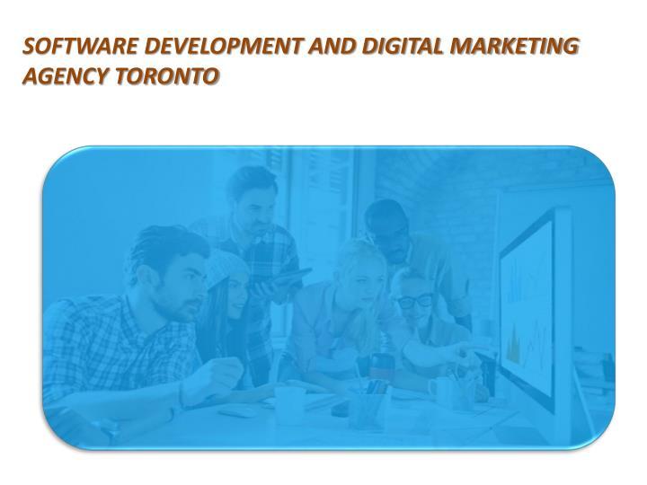 Software Development And Digital Marketing Agency Toronto