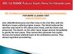 his 110 rank future starts here his110rank com10