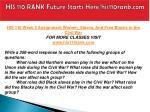 his 110 rank future starts here his110rank com9