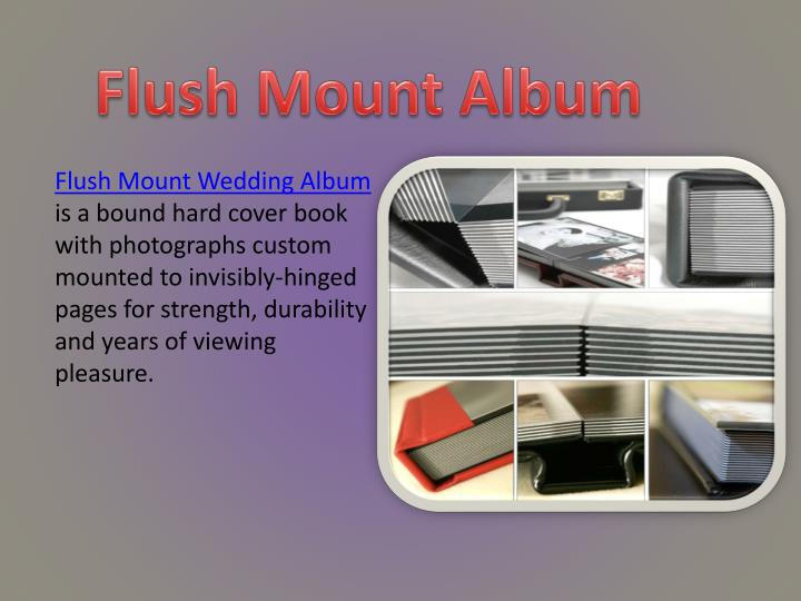 Flush Mount Album