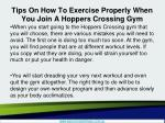 tips on how to exercise properly when you join a hoppers crossing gym2