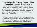 tips on how to exercise properly when you join a hoppers crossing gym4