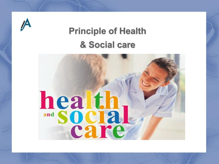 Principle of Health