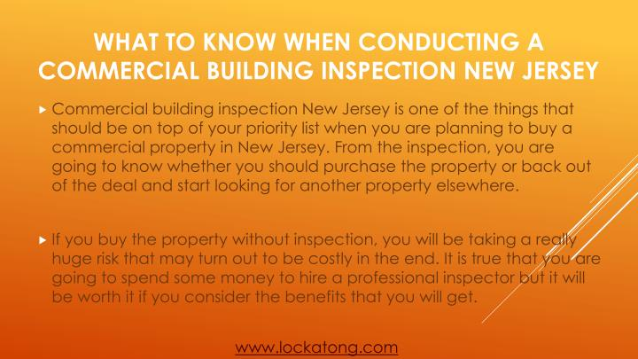What to know when conducting a commercial building inspection new jersey1