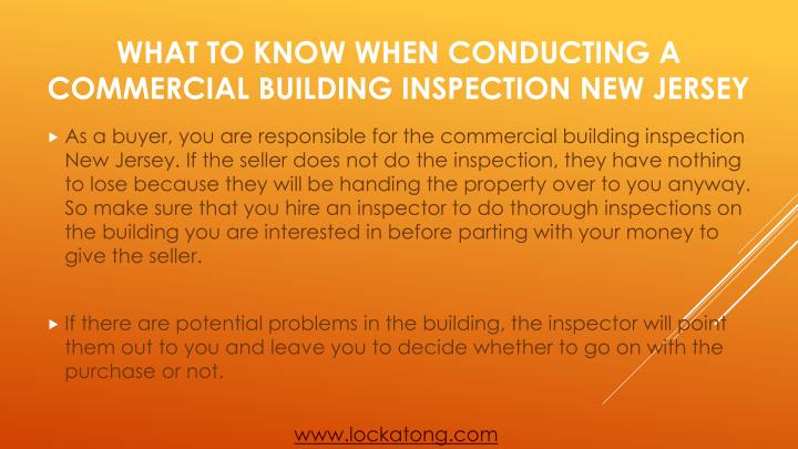 What to know when conducting a commercial building inspection new jersey2
