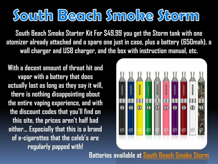 South Beach Smoke Storm