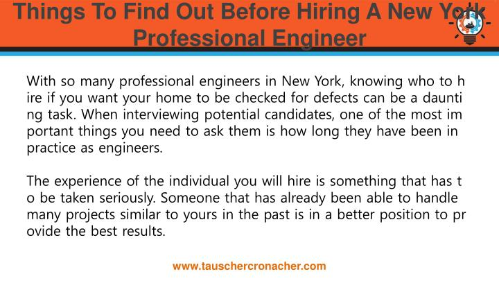 Things to find out before hiring a new york professional engineer1