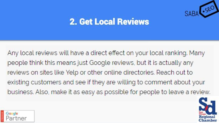 2. Get Local