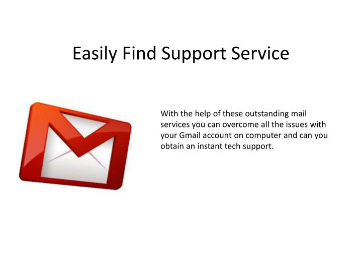 Easily Find Support Service