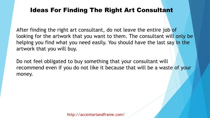 Ideas For Finding The Right Art Consultant