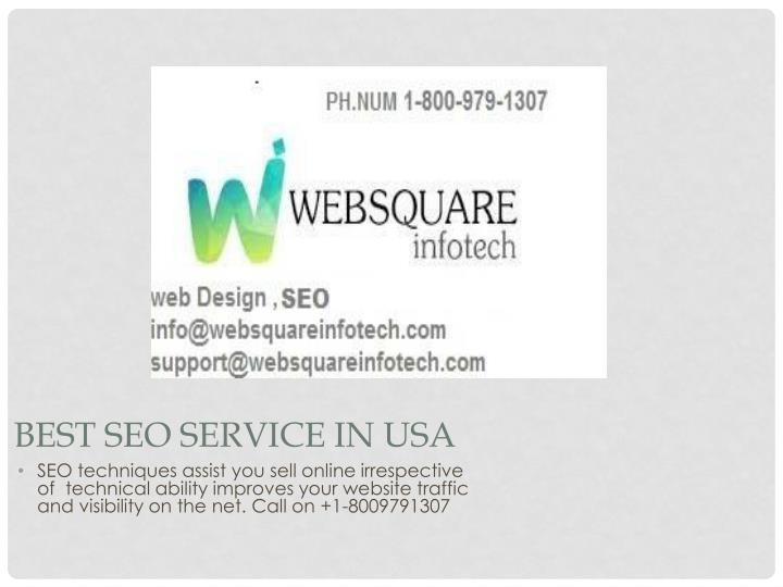 best seo service in usa