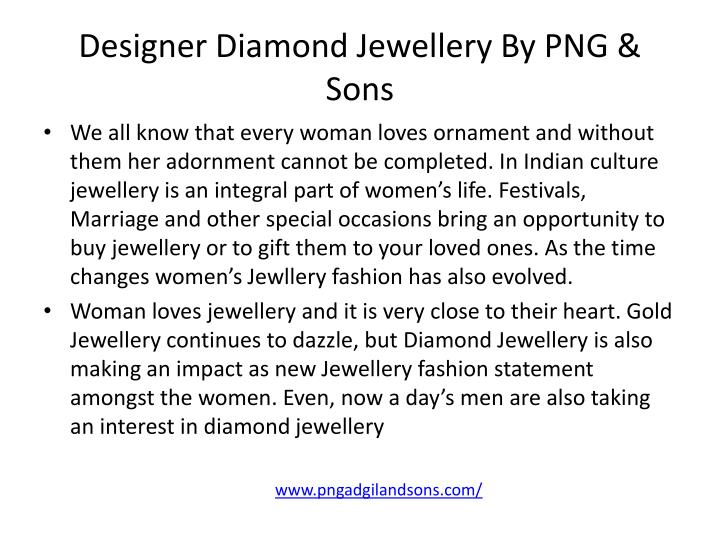 Designer diamond jewellery by png sons1