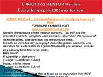 cpmgt 302 mentor possible everything cpmgt302mentor com1