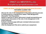 cpmgt 302 mentor possible everything cpmgt302mentor com4