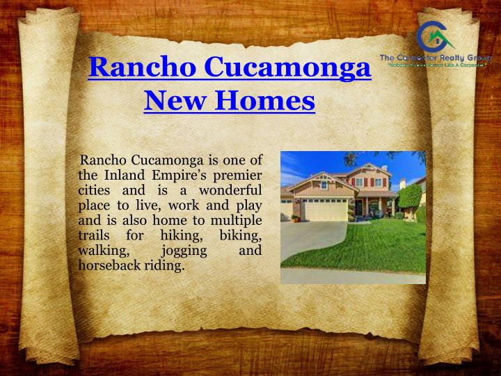 Rancho Cucamonga New Homes