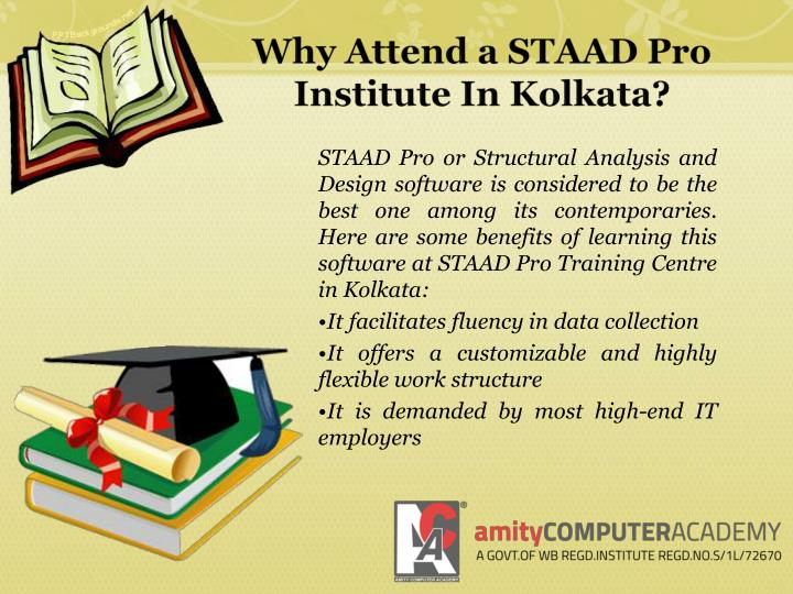 Why Attend a STAAD Pro Institute In Kolkata?