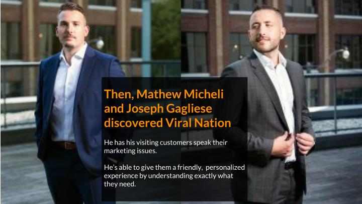 Then, Mathew Micheli