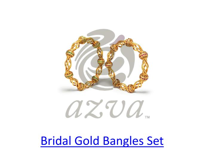 Bridal Gold Bangles Set