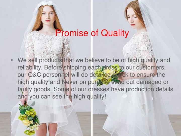 Promise of Quality