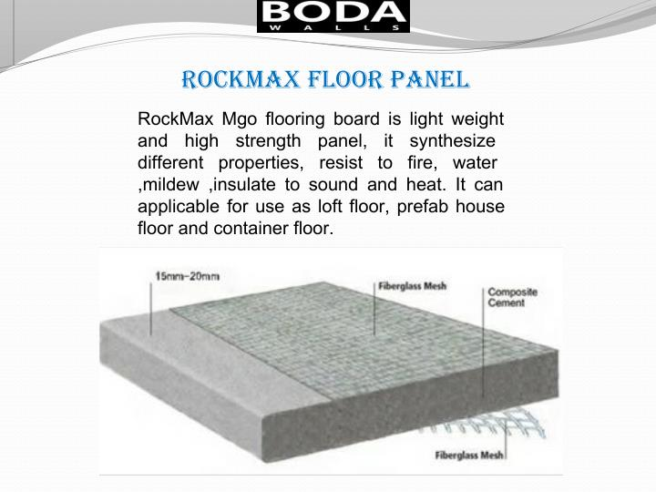 rockmax Floor Panel
