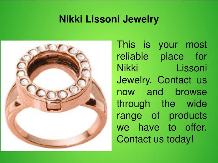 Nikki Lissoni Jewelry
