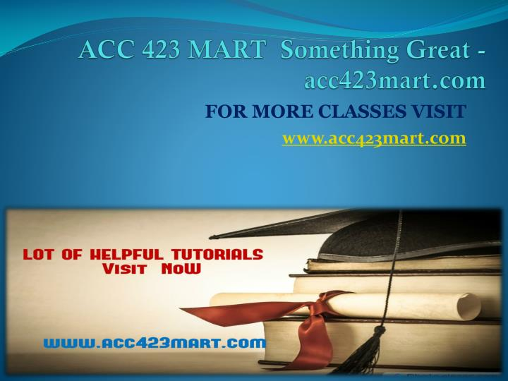 Acc 423 mart something great acc423mart com