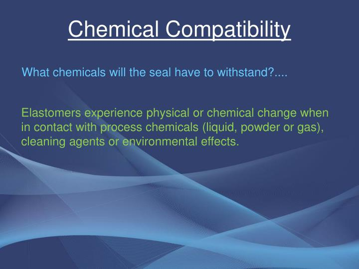 Chemical Compatibility