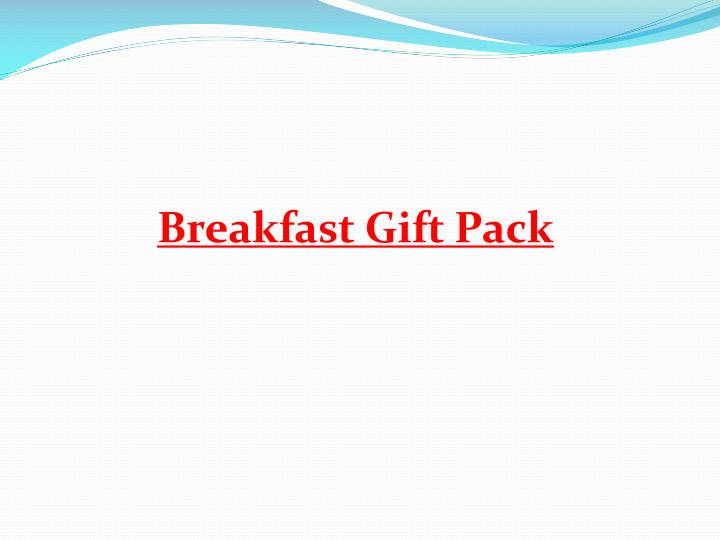 Breakfast Gift Pack