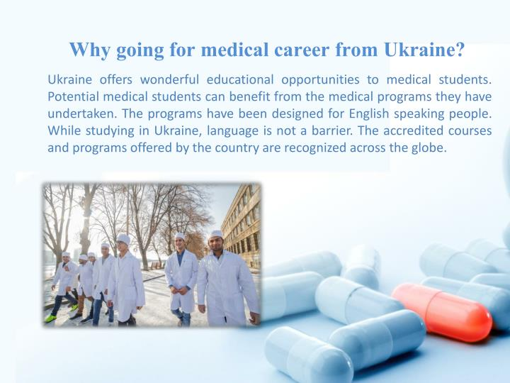 Why going for medical career from Ukraine?