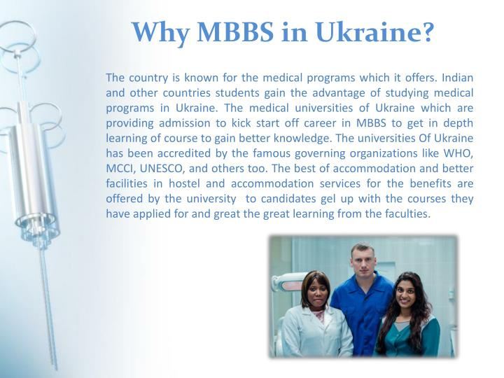 Why MBBS in Ukraine?