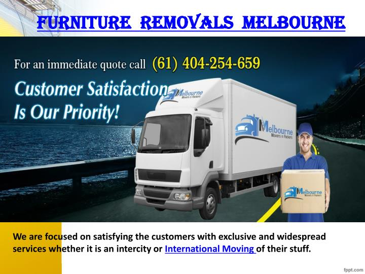 furniture  removals  Melbourne