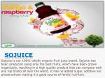 sojuice