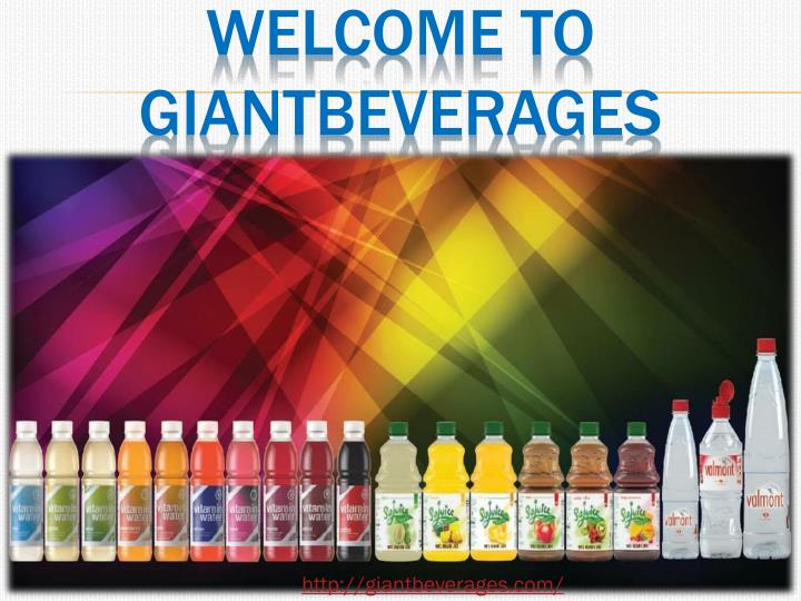 WELCOME TO GIANTBEVERAGES