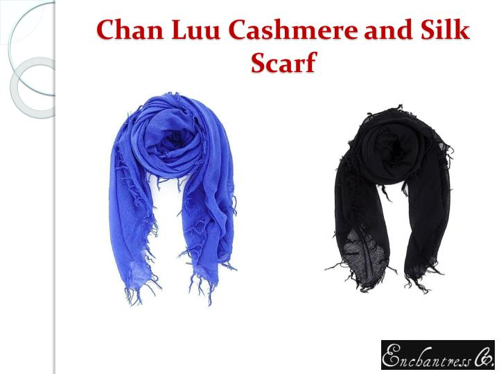 Chan Luu Cashmere and Silk