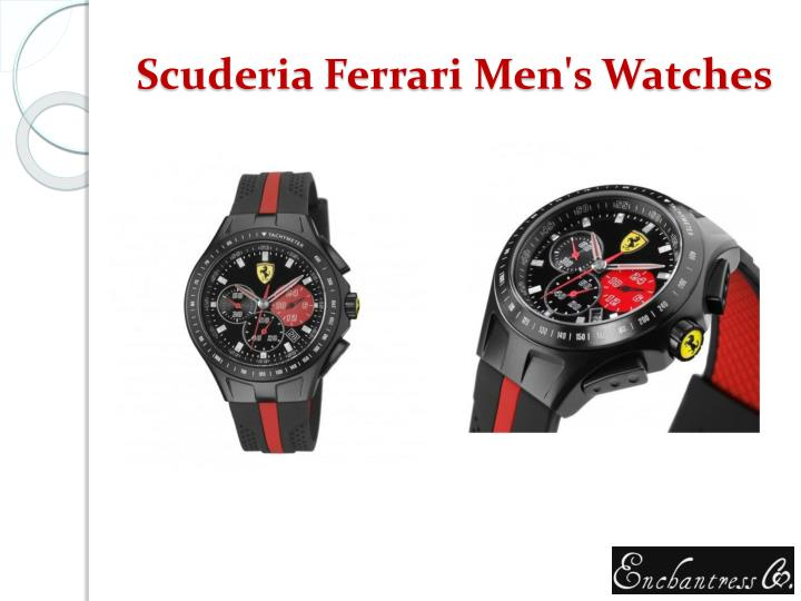 Scuderia ferrari men s watches
