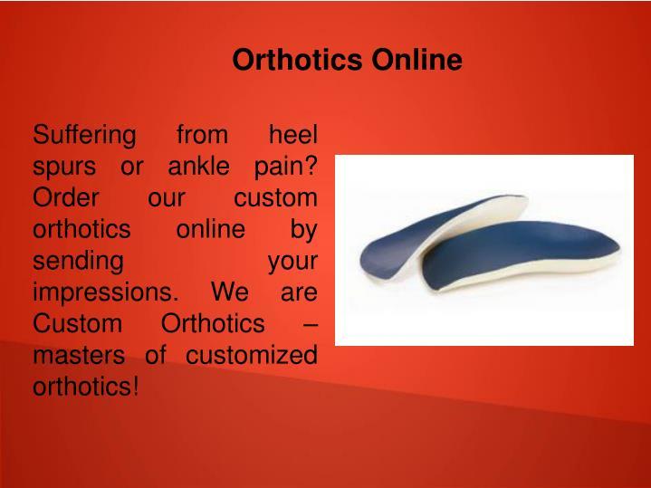 Orthotics Online