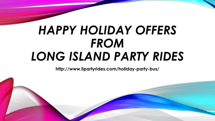 HAPPY HOLIDAY OFFERS