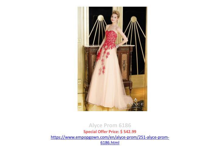 Alyce Prom 6186