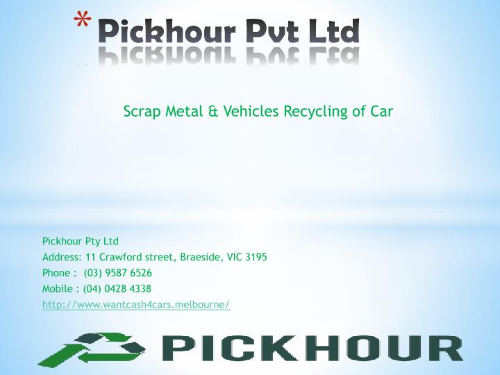 Pickhour pty ltd