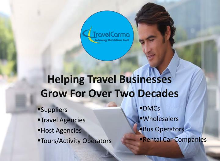 Helping travel businesses grow for over two decades
