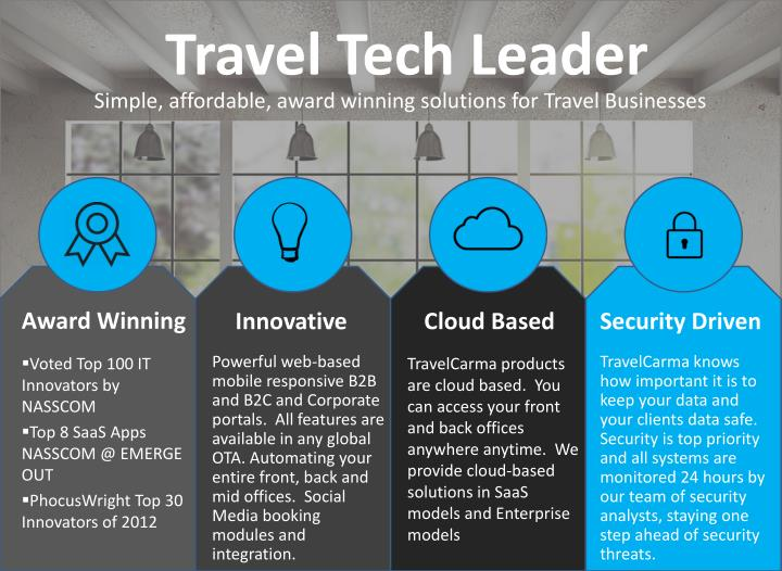 Travel tech leader