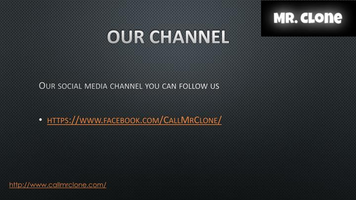 Our channel