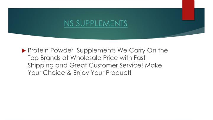Ns supplements