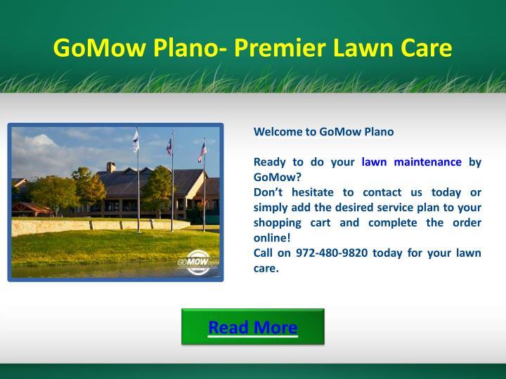 GoMow Plano- Premier Lawn Care