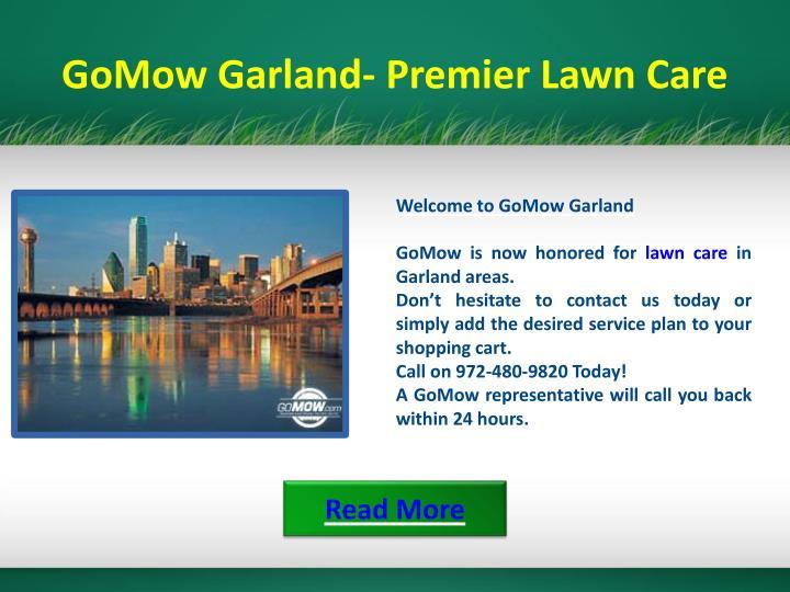 GoMow Garland- Premier Lawn Care