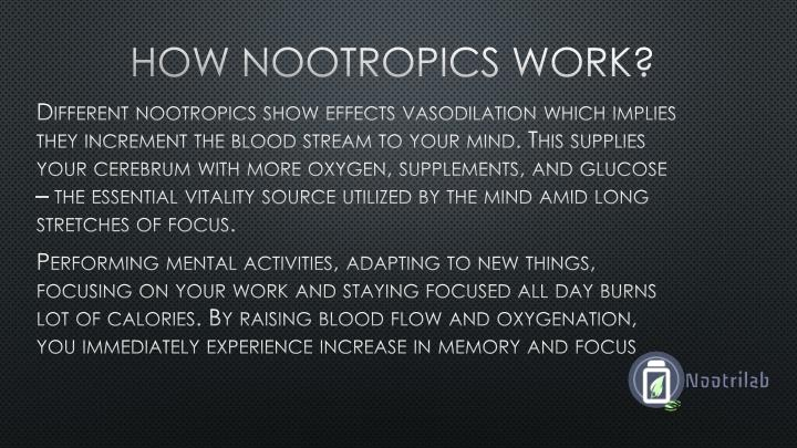 How Nootropics work?