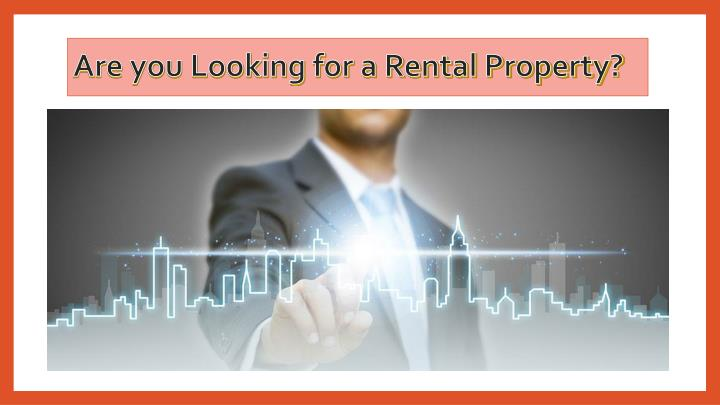 Are you looking for a rental property